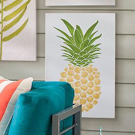 Pineapple Outdoor Canvas Art