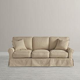 Clara Slipcovered Sofa