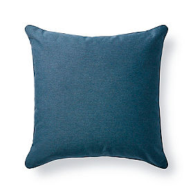 Denim Outdoor Throw Pillow