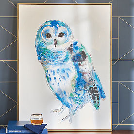 Owl Canvas Wall Art