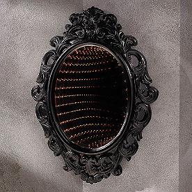 Black Infinity Mirror