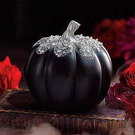 Black Jeweled Pumpkin