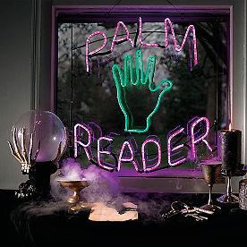 Palm Reader Neon Sign