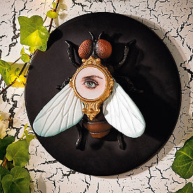 Insect Fly Wall Plaque