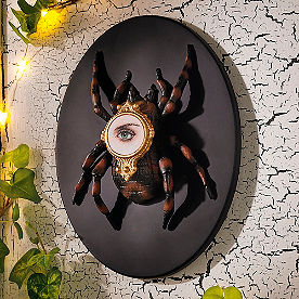 Insect Spider Wall Plaque