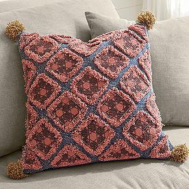 Bodega Diamond Patchwork Pillow