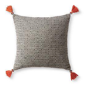 Bodega Gray Geo Pillow