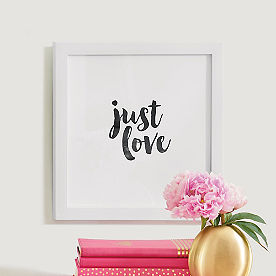 Just Love Wall Art