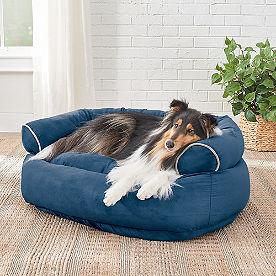 sofa dog bed - Grandin Road Catalog