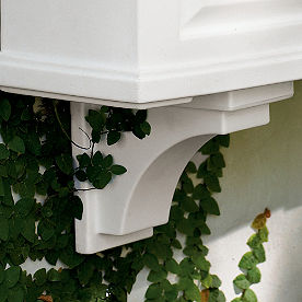 Set of Two Corbels for Nantucket Window Planter