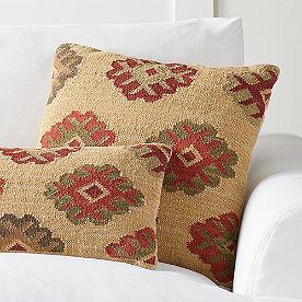 Ankara Kilim Throw Pillow