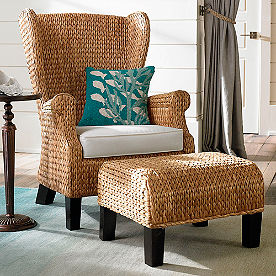 Santino Wing Chair with Cushion