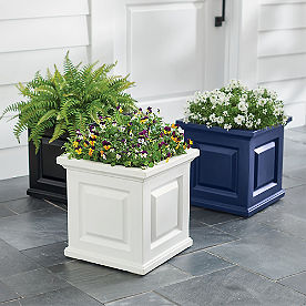 Nantucket Square Planter