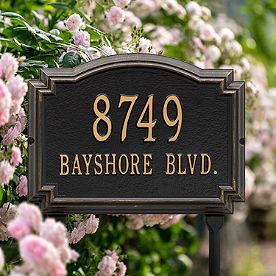 Williamsburg Standard-Size Address Plaques