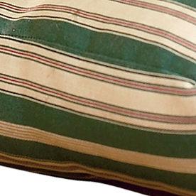Green Stripe Bed