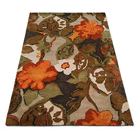 Petal Pusher Indoor Rug