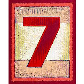 Block Number Art Prints