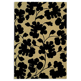 Soho Area Rug in Beige & Black