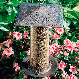 Oakleaf Bird Feeder
