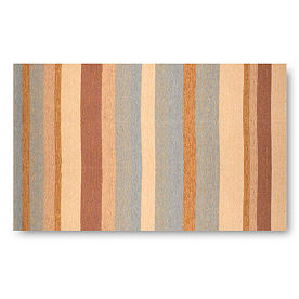 Ravella Stripes Outdoor Rug in Sand