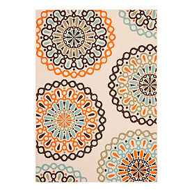Lotus Outdoor Area Rug