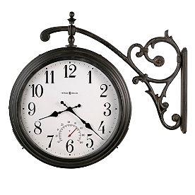 Luis Outdoor Wall Clock by Howard Miller