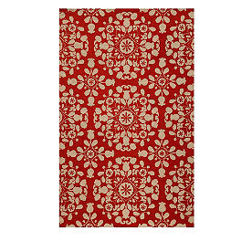 Floral Field Area Rug
