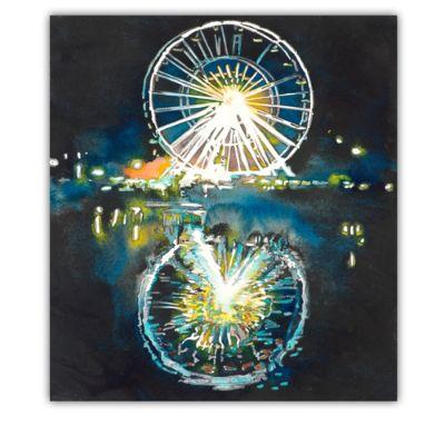 Ferris Wheel Costume The Ferris Wheel Outdoor Wall