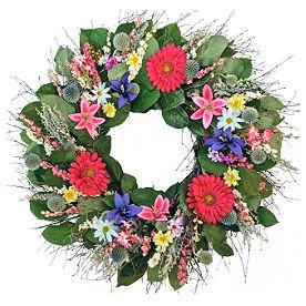 Spring Into Summer Wreath