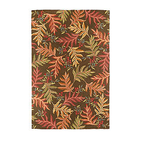 Ferns and Berries Rug