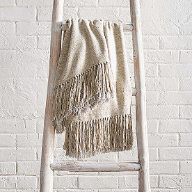 Heavenly Woven Silk Throw