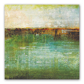 Emerald Horizon Wall Art