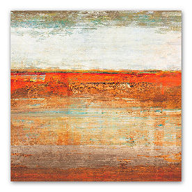 Rust Horizon Wall Art