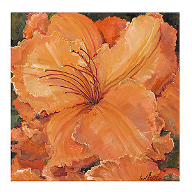Sunset Hibiscus Wall Art