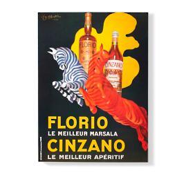 """""""Florio Cinzano"""" Wall Art"""