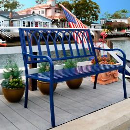Lakeside Steel Bench