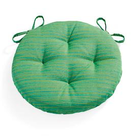 Sunbrella Round Tufted Seat Cushion |