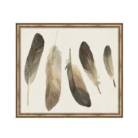 Muted Feathers Artwork IV