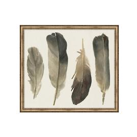 Muted Feathers Artwork I