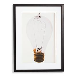 Edison Bulb Artwork III