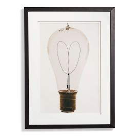 Edison Bulb Artwork IV