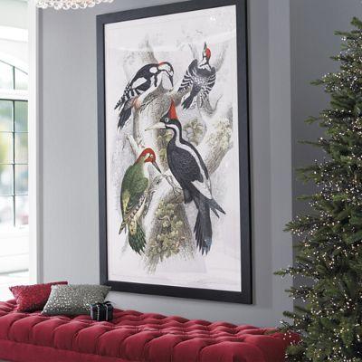 Les oiseaux artwork grandin road - Faux oiseaux decoration ...