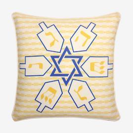 Dreidels Pillow |