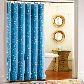 Organic Shower Curtain Grandin Road