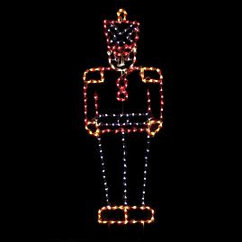 Pre-Lit LED Toy Soldier