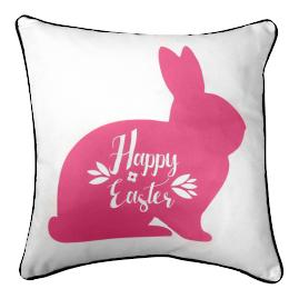 Happy Easter Bunny Pillow |