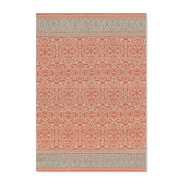 Magnolia Home Emmie Kay Rug in Persimmon and