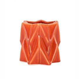 Century Orange Vase, Small