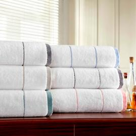 Color Banded 6 pc. Towel Set