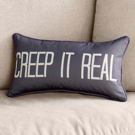 """""""Creep it Real"""" Lumbar Pillow"""